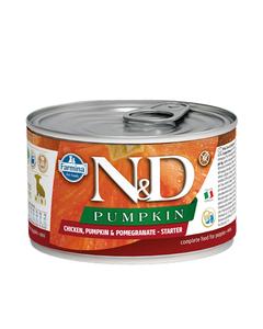Farmina N&D Pumpkin Starter Mini Puppy Wet Food - Chicken, Pumpkin & Pomegranate