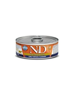 Farmina N&D Pumpkin Adult Feline Wet Food - Lamb, Pumpkin & Blueberry