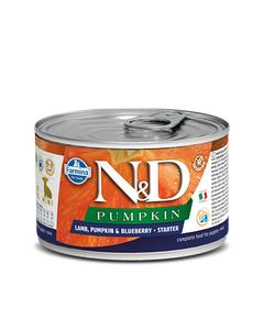 Farmina N&D Pumpkin Starter Mini Puppy Wet Food - Lamb, Pumpkin & Blueberry