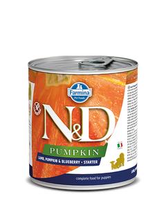 Farmina N&D Pumpkin Starter Puppy Wet Food - Lamb, Pumpkin & Blueberry