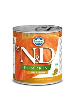 Farmina N&D Pumpkin Adult Wet Food for Dogs - Quail & Pumpkin