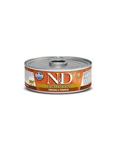 Farmina N&D Pumpkin Adult Feline Wet Food - Venison & Pumpkin
