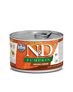 Farmina N&D Pumpkin Adult Mini Wet Food for Dogs - Venison & Pumpkin