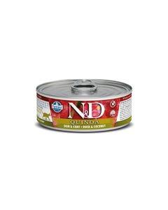 Farmina N&D Quinoa Functional Feline Wet Food - Skin & Coat Duck