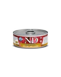 Farmina N&D Quinoa Functional Feline Wet Food - Skin & Coat Quail