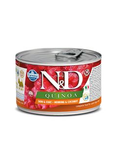 Farmina N&D Quinoa Functional Canine Mini Wet Food - Skin & Coat Herring