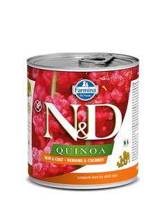 Farmina N&D Quinoa Functional Canine Wet Food - Skin & Coat Herring