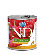 Farmina N&D Quinoa Functional Canine Wet Food - Skin & Coat Quail