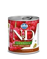 Farmina N&D Quinoa Functional Canine Wet Food - Skin & Coat Venison