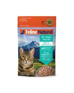 Feline Natural Raw Freeze Dried Beef & Hoki Feast