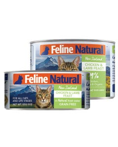 Feline Natural Chicken & Lamb Feast Canned Cat Food