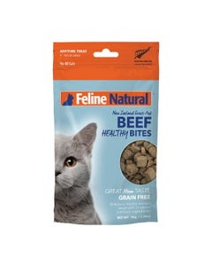 Feline Natural Beef Healthy Bites