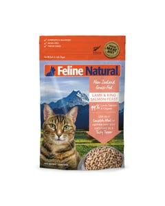 Feline Natural Raw Freeze Dried Lamb & Salmon Feast