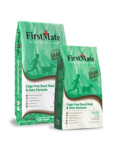 FirstMate Cage Free Duck & Oats Formula