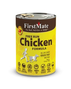 First Mate Grain Free Chicken Dog Food Can
