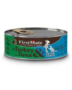 First Mate 50/50 Free Run Turkey & Wild Tuna Canned Cat Food