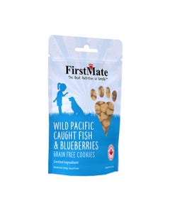 FirstMate Wild Pacific Caught Fish & Blueberries Dog Treats