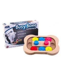 Flipo Brainiac Busy Bone Interactive Pet Toy with Box