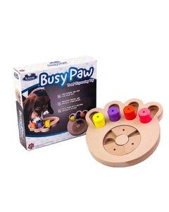 Flipo Brainiac Busy Paw Interactive Pet Toy with Box