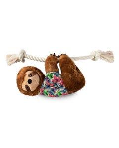 Fringe Petshop Let's Hang Out Summer Sloth Dog Toy