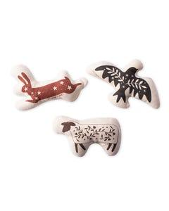 Fringe Petshop Folk Animal Canvas Mini Toys
