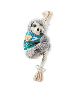 Fringe Petshop Slowin' Down for Summer Sloth Dog Toy