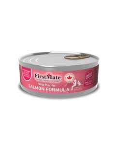 FirstMate Limited Ingredient Canned Cat Food - Wild Salmon Formula for Cats