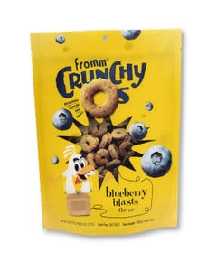 Fromm Crunchy Os Grain-Free Dog Treats - Blueberry Blasts