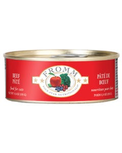 Fromm Four-Star Nutritional Food for Cats - Beef Pâté