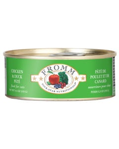 Fromm Four-Star Nutritional Food for Cats - Chicken & Duck Pâté