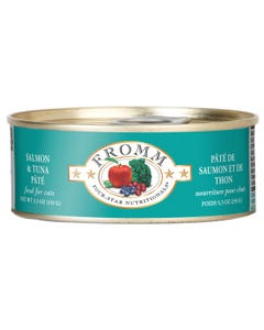 Fromm Four-Star Nutritional Food for Cats - Salmon & Tuna Pâté