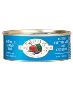 Fromm Four-Star Nutritional Food for Cats - Seafood & Shrimp Pâté