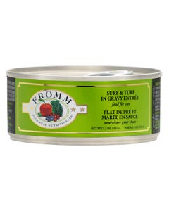 Fromm Four-Star Nutritional Food for Cats - Surf & Turf in Gravy Entrée