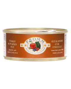 Fromm Four-Star Nutritional Food for Cats - Turkey & Pumpkin Pâté