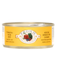 Fromm Four-Star Nutritional Food for Cats - Turkey & Duck Pâté