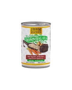 Fromm Family Recipes Frommbalaya Canned Dog Food - Beef, Vegetable & Rice Stew