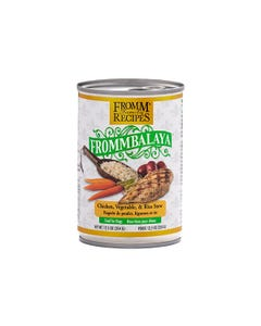 Fromm Family Recipes Frommbalaya Canned Dog Food - Chicken, Vegetable & Rice Stew