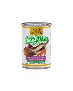 Fromm Family Recipes Frommbalaya Canned Dog Food - Pork, Vegetable & Rice Stew