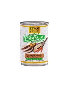 Fromm Family Recipes Frommbalaya Canned Dog Food - Turkey, Vegetable & Rice Stew