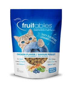 Fruitables Chicken Flavor with Blueberries Cat Treats - Packaging