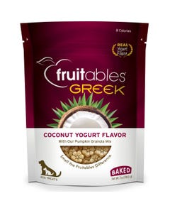 Fruitables Greek Dog Treats - Coconut Yogurt