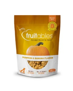 Fruitables Pumpkin & Banana Dog Treats