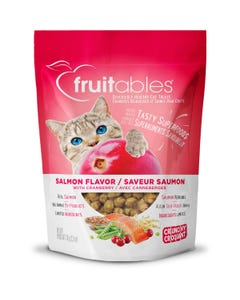 Fruitables Salmon Flavor with Cranberries Cat Treats - Packaging