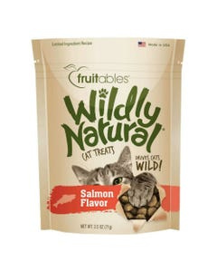 Fruitables Wildly Natural Cat Treats - Salmon