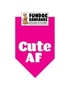 FunDog Cute AF Bandana