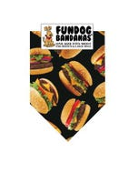 FunDog Hamburgers Bandana