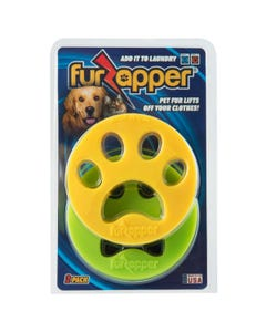 FurZapper Pet Hair Remover for Laundry - 2 Pack