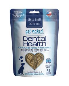 Get Naked Dental Health Bone - Medium