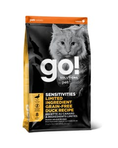 Go! Solutions Sensitivities - Limited Ingredient Grain Free Duck Recipe Cat Food