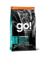 Go! Solutions Carnivore Grain Free Chicken, Turkey + Duck Adult Recipe